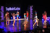 Models at Top Model Latina 2014 — Stock Photo
