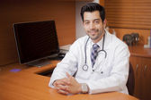 Portrait of male doctor — Stock Photo