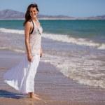 Beach vacation woman — Stock Photo #25983469