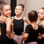 Little ballet girls — Stock Photo