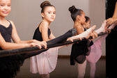 Pretty little dancers — Stock Photo