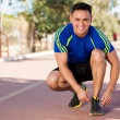 I am ready to run! — Stock Photo