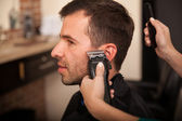 Getting sideburns right — Stock Photo