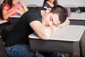Napping and dreaming during class — Stock Photo