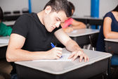 Admission test for high school — Stock Photo