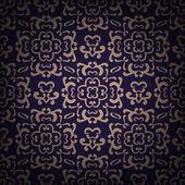 Ornamental damask pattern — Stock Vector