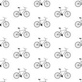 Vector seamless bicycle pattern. Can be used in textiles, for book design, website background. — Stock Vector