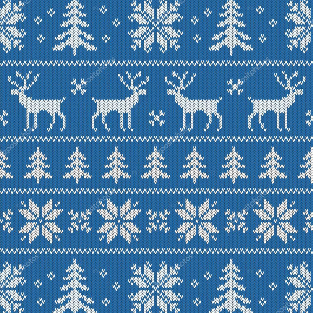 Новогодний свитер узор