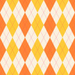 Seamless classical argyle pattern. — Stock Vector #33436791