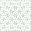 Vector seamless winter retro pattern — Stock Vector