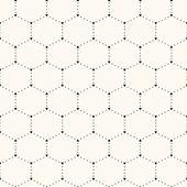 Seamless hexagon pattern. — Stock Vector