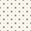 Vector seamless retro pattern — Stock Vector