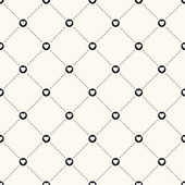 Vector seamless retro pattern — Vecteur