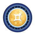 Zodiac sign of gemini — Stock Photo