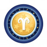 Zodiac sign aries — Stock Photo