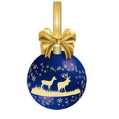 Hunting Christmas decoration — Foto de Stock