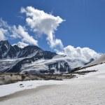 Mountains Austrian Alps Glacier Pasterze — Stock Photo #50247397
