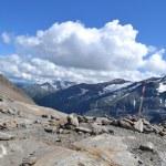 Mountains Austrian Alps Glacier Pasterze — Stock Photo #50247407