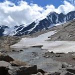 Mountains Austrian Alps Glacier Pasterze — Stock Photo #50247441