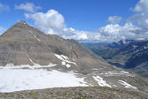 Mountains Austrian Alps Glacier Pasterze — Stock Photo