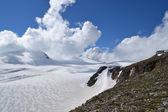 Hory rakouských Alp ledovce skalního — Stock fotografie