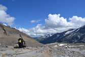 Mountains Austrian Alps Glacier Pasterze — Stock Photo