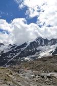 Bergen österrikiska alperna glaciären pasterzen — Stockfoto