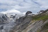 Montanhas austríacas alpes glaciar pasterze — Fotografia Stock
