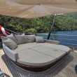 Deck of luxury sailboat — Stock Photo #34815955