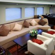 Lounge of luxury sailboat — Stock Photo #34816281