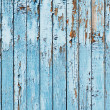 Stock Photo: Old blue wood plank background.