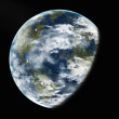 Earth from space. Elements of this image furnished by NASA. — Stock Photo #28970241