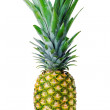 Stock Photo: Ripe whole pineapple isolated on white background