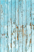 Old blue wood plank background. — Stock Photo