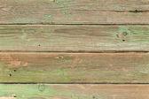 Alte greeen holz plank hintergrund. — Stockfoto