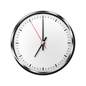 Wall clock without numbers. — Stock Photo
