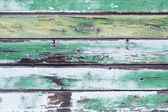 Old green wood plank background. — Foto de Stock