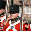 Foto Stock: Redcoat soldiers