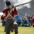 Redcoat Soldier — Stock Photo