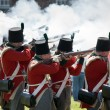 Redcoat Regiment — Stock Photo