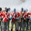 Redcoat soldiers — Stock Photo #12178663