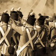 Redcoat soldiers — Stock Photo #12178673