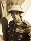 World War 1 soldier — Stock Photo