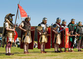 Roman Soldiers — Stock Photo