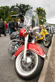 Harley Davidson Heritage Softail — Stock Photo