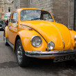 Постер, плакат: Yellow VW Beetle