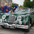 Jaguar XK150 - Stock Photo