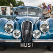 Jaguar XK120 - Stock Photo
