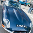 Jaguar E Type - Stock Photo