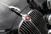 MK2 Jaguar grille — Stock Photo